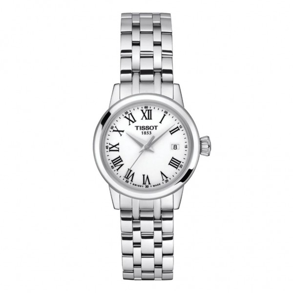 TISSOT T-Classic Dream Lady Silver Stainless Steel Bracelet T1292101101300