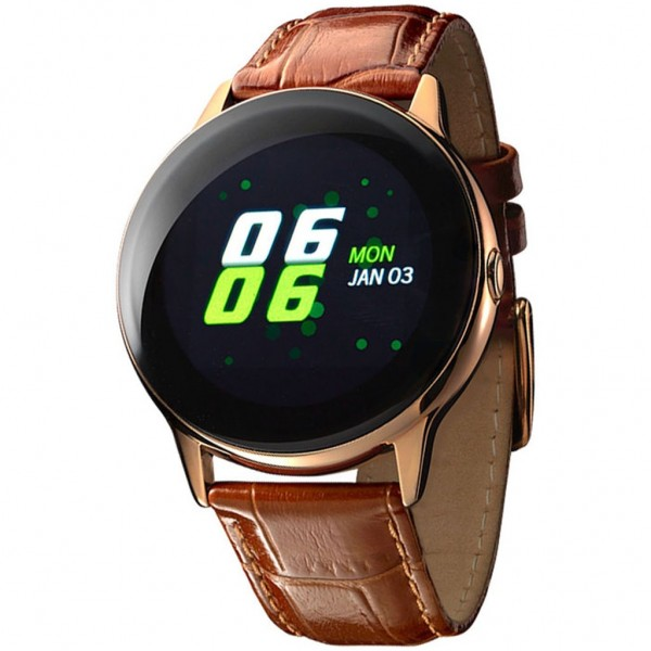 VOGUE Cosmic 200134 Smartwatch Brown Leather Strap