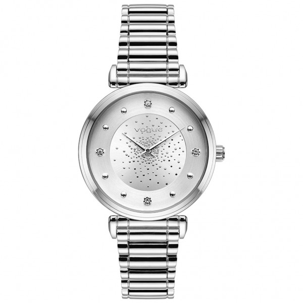 VOGUE Bind 610281 Crystals Silver Stainless Steel Bracelet