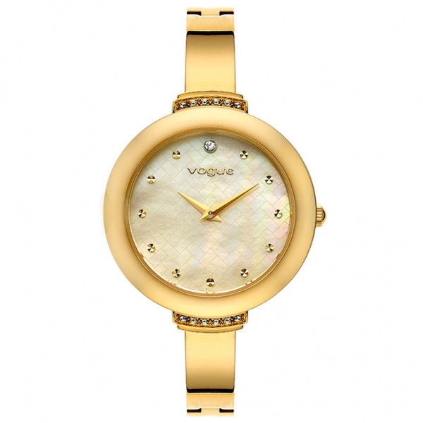 VOGUE Caprice II 812343 Crystals Gold Stainless Steel Bracelet