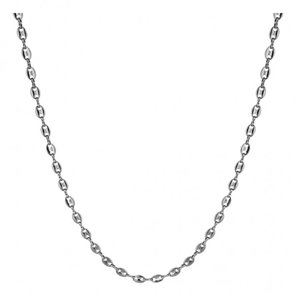 BREEZE Handmade Necklace Chain | Silver Stainless Steel 410025.4A