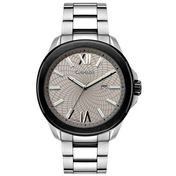 BREEZE Trendster 611042.4 Silver Stainless Steel Bracelet