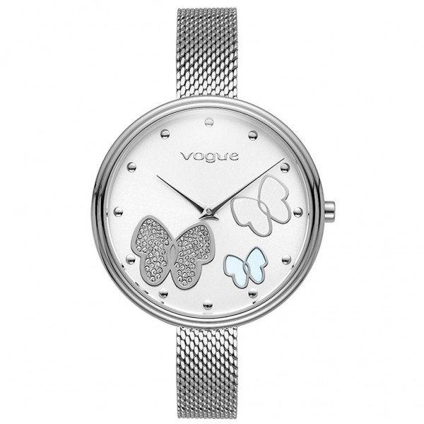 VOGUE Papillons II 812482 Crystals Silver Stainless Steel Bracelet