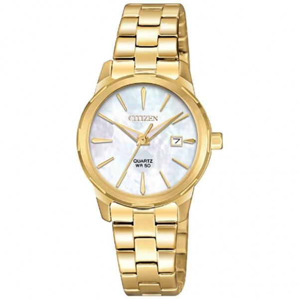 CITIZEN Elegance Ladies EU6072-56D Quartz Gold Stainless Steel Bracelet