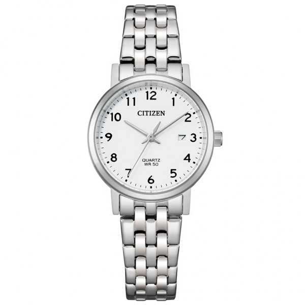 CITIZEN Quartz EU6090-54A Silver Stainless Steel Bracelet