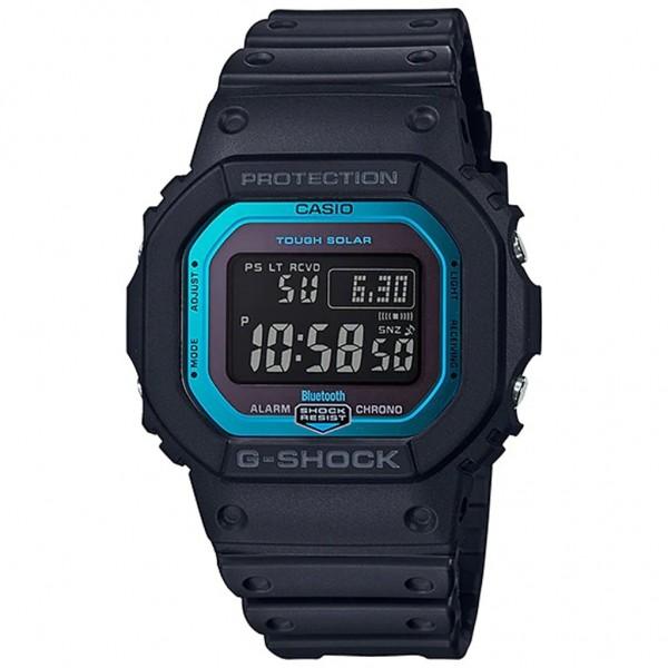 CASIO G-Shock GW-B5600-2ER Solar Smartwatch Black Rubber Strap