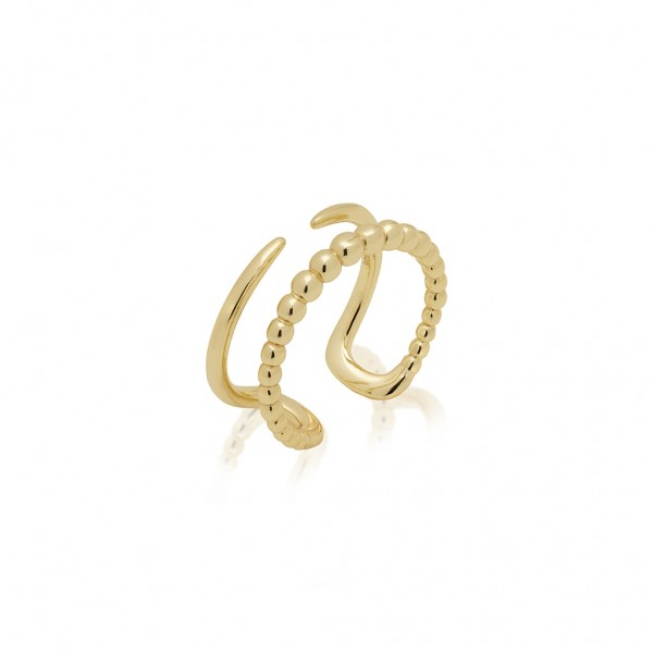 JCOU The Dots Ring Silver 925° Gold Plated 14K JW900G0-03