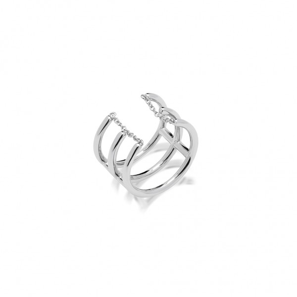 JCOU Chains Ring Silver 925° Gold JW904S0-02