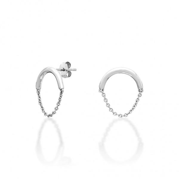 JCOU Chains Earring Silver 925° JW904S4-01