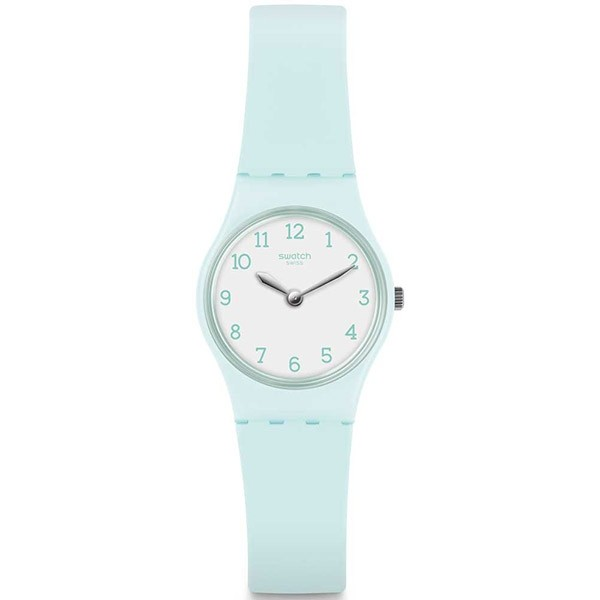 SWATCH Greenbelle LG129 Turqoise Silicone Strap