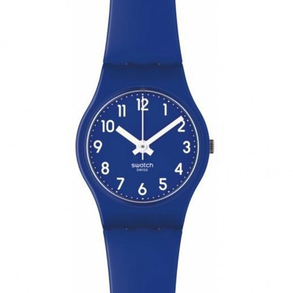 SWATCH Blueberry Girl LN148C Blue Rubber Strap