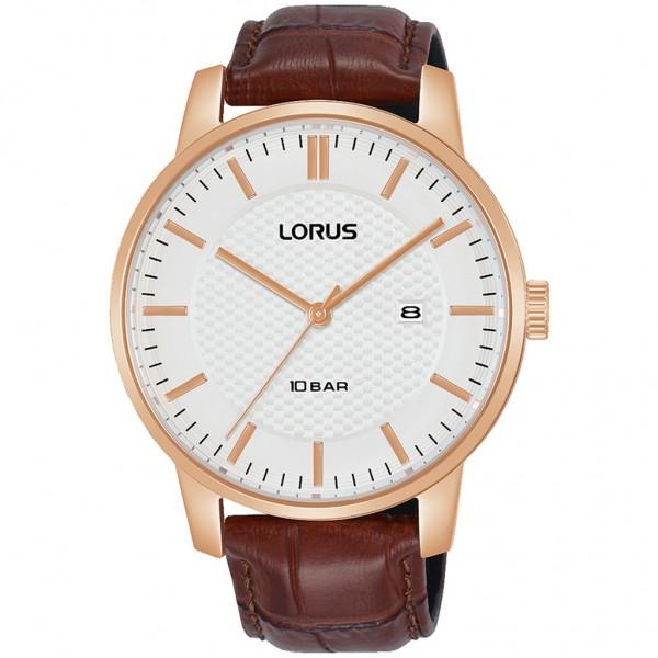 LORUS Urban RH978NX-9 Brown Leather Strap