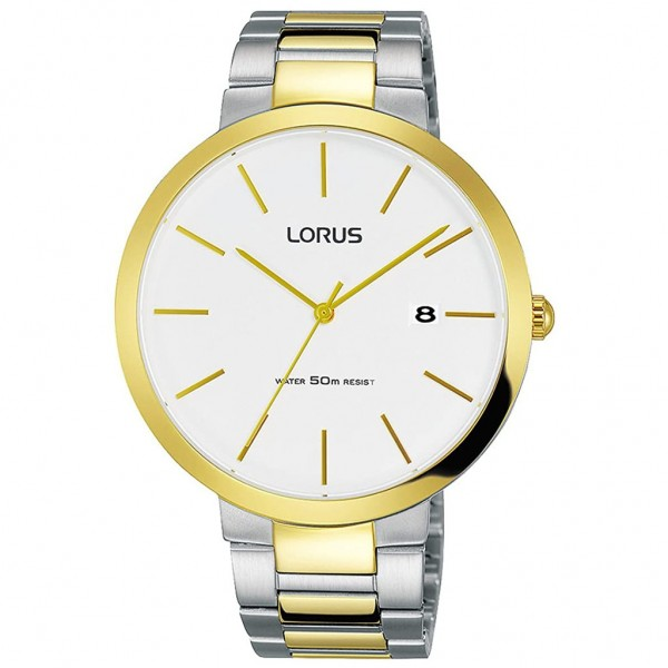 LORUS Classic RS990CX-9 Two Tone Stainless Steel Bracelet