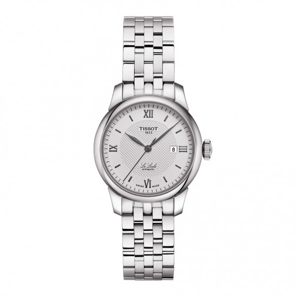TISSOT T-Classic Le Locle Automatic Silver Stainless Steel Bracelet T0062071103800