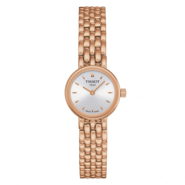 TISSOT T-Lady Lovely Rose Gold Stainless Steel Bracelet T0580093303101
