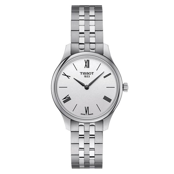 TISSOT T-Classic Tradition 5.5 Lady Silver Stainless Steel Bracelet T0632091103800