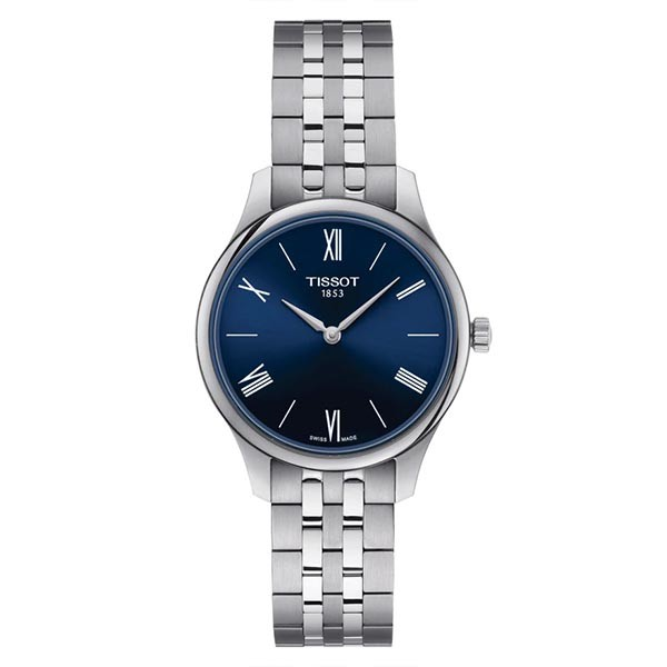 TISSOT T-Classic Tradition 5.5 Lady Silver Stainless Steel Bracelet T0632091104800