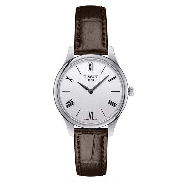TISSOT T-Classic Tradition Brown Leather Strap T0632091603800