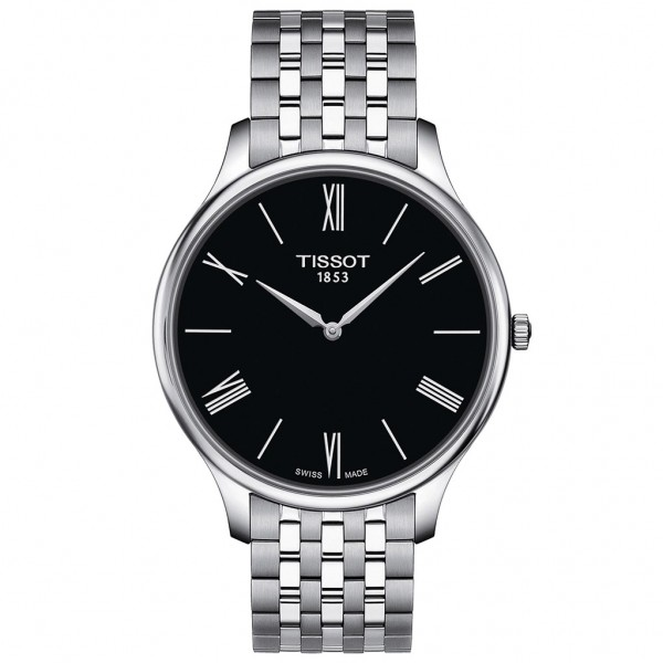 TISSOT T-Classic Tradition 5.5 Silver Stainless Steel Bracelet T0634091105800