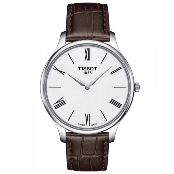 TISSOT T-Classic Tradition 5.5 Brown Leather Strap T0634091601800