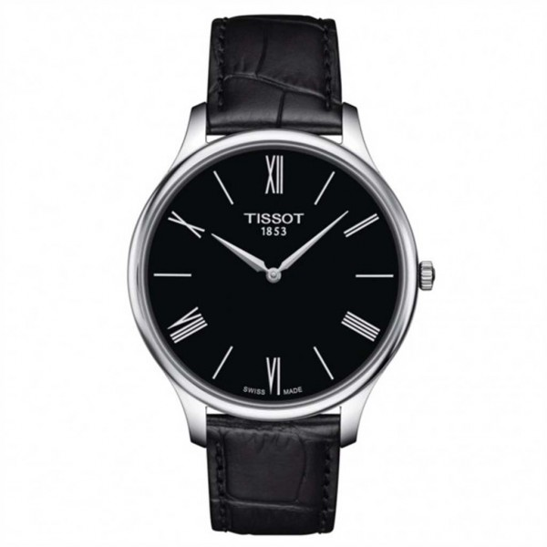 TISSOT T-Classic Tradition 5.5 Black Leather Strap T0634091605800