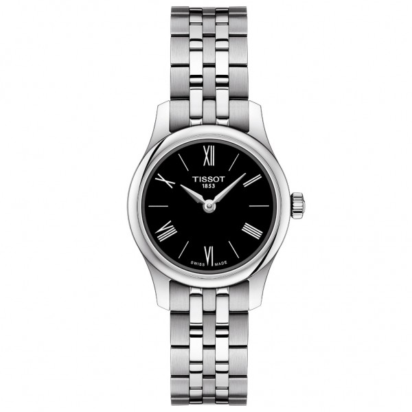 TISSOT T-Classic Tradition Silver Stainless Steel Bracelet T0630091105800