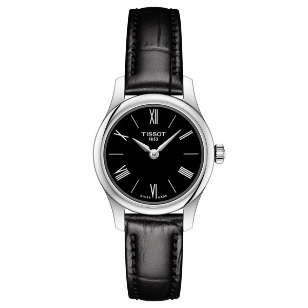 TISSOT T-Classic Tradition Black Leather Strap T0630091605800