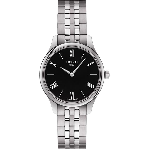 TISSOT T-Classic Tradition 5.5 Lady Silver Stainless Steel Bracelet T0632091105800