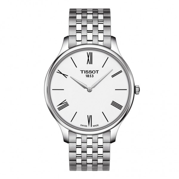TISSOT T-Classic Tradition 5.5 Silver Stainless Steel Bracelet T0634091101800