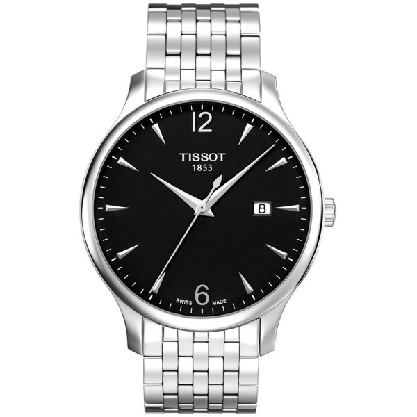 TISSOT T-Classic Tradition Silver Stainless Steel Bracelet T0636101105700