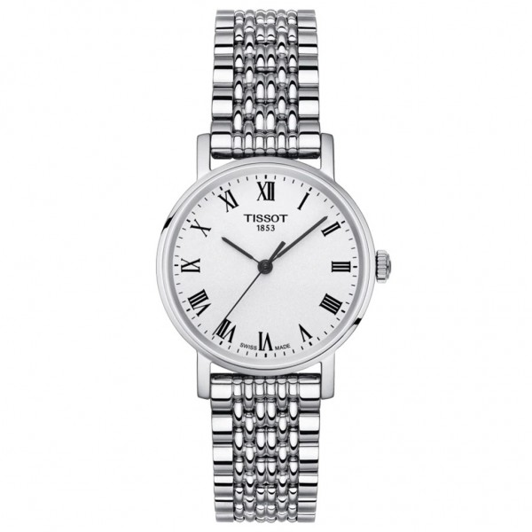 TISSOT T-Classic Everytime Lady Silver Stainless Steel Bracelet T1092101103300