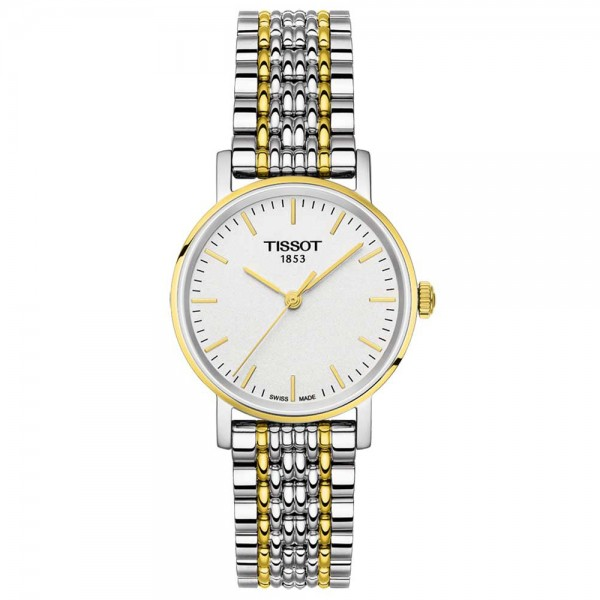 TISSOT T-Classic Everytime Lady Two Tone Stainless Steel Bracelet T1092102203100