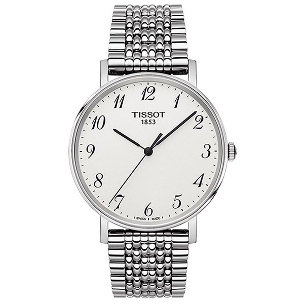 TISSOT T-Classic Everytime Silver Stainless Steel Bracelet T1094101103200