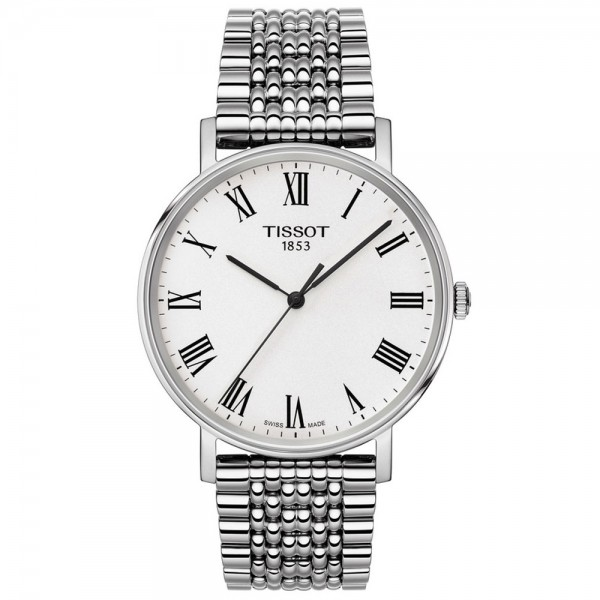 TISSOT T-Classic Everytime Silver Stainless Steel Bracelet T1094101103300
