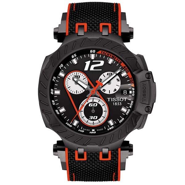 TISSOT T-Sport T-Race Marc Marquez 2019 Chronograph Two Tone Fabric Strap T1154173705701