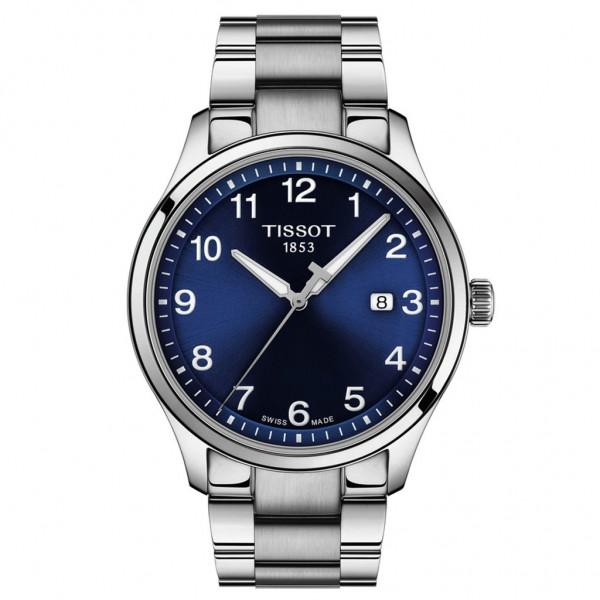 TISSOT T-Sport Gent XL Classic Silver Stainless Steel Bracelet T1164101104700