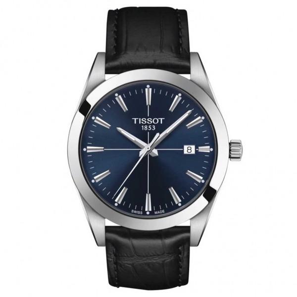 TISSOT T-Classic Gentleman Black Leather Strap T1274101604101