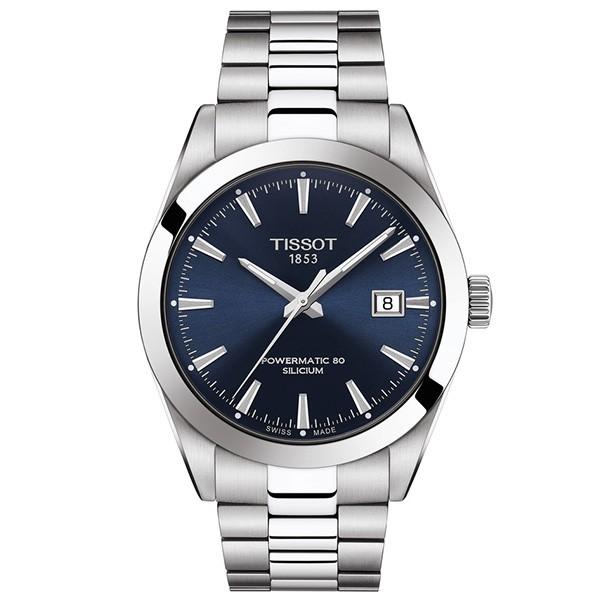 TISSOT T-Classic Gentleman Powermatic 80 Silver Stainless Steel Bracelet T1274071104100
