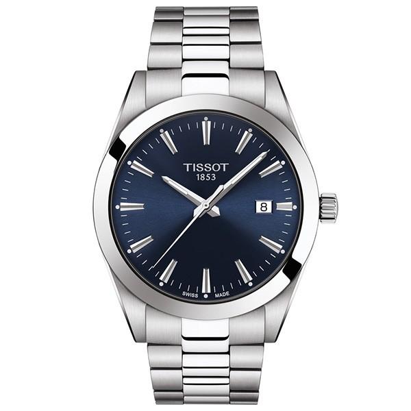 TISSOT T-Classic Gentleman Silver Stainless Steel Bracelet T1274101104100