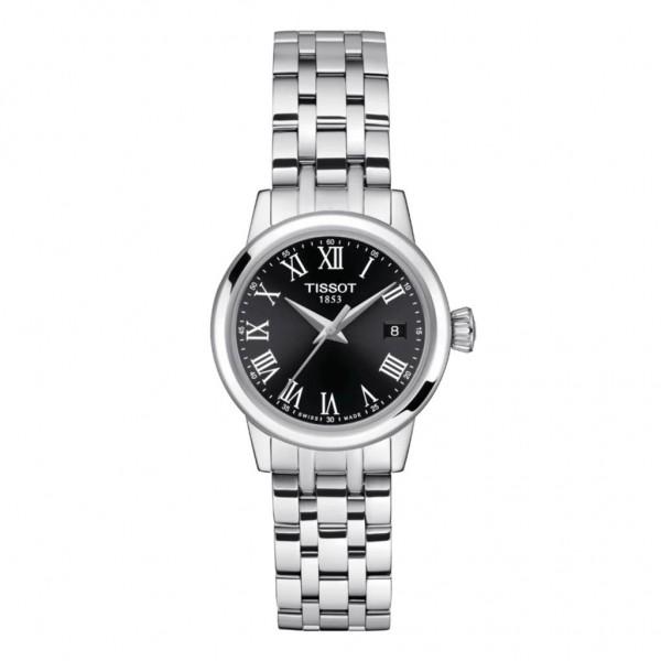 TISSOT T-Classic Dream Lady Silver Stainless Steel Bracelet T1292101105300