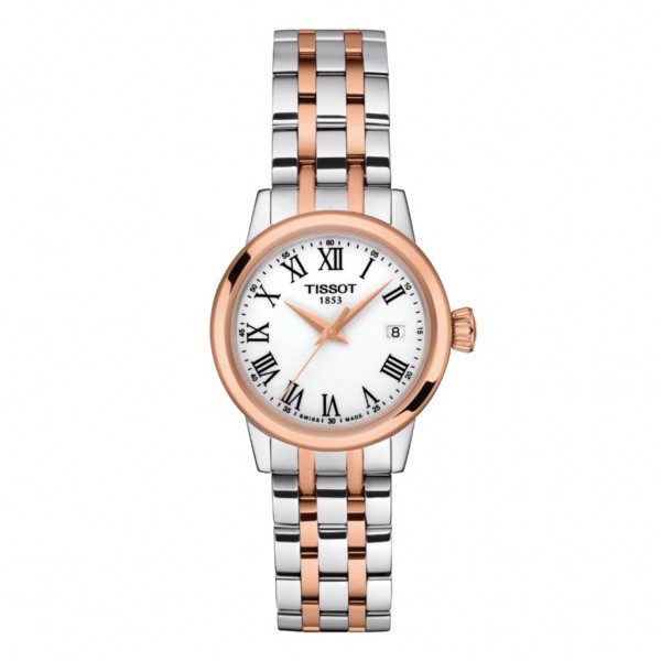 TISSOT T-Classic Dream Lady Two Tone Stainless Steel Bracelet T1292102201300