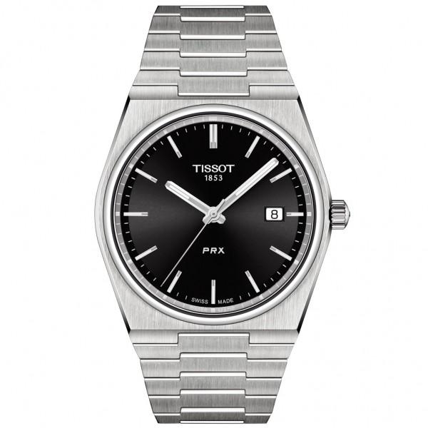 TISSOT T-Classic PRX 40 Silver Stainless Steel Bracelet T1374101105100