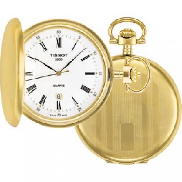 TISSOT T-Pocket Savonnettes Gold Stainless Steel T83455313
