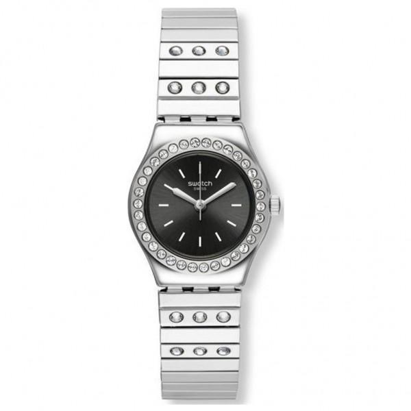 SWATCH Tan Li YSS318B Silver Stainless Steel Bracelet Small