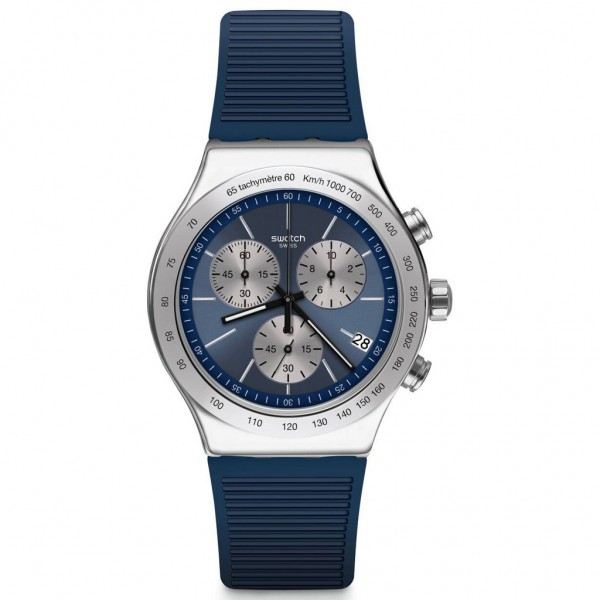 SWATCH Lost In The Sea YVS475 Blue Rubber Strap