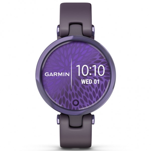 GARMIN Lily Sport Midnight Orchid Bezel with Deep Orchid  Case and Silicone Band 010-02384-12