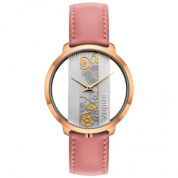 VOGUE Telescopic 610152 Pink Leather Strap
