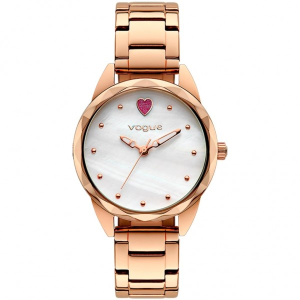 VOGUE Cuore 610451 Rose Gold Stainless Steel Bracelet