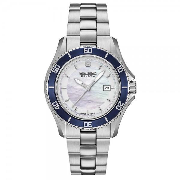 SWISS MILITARY HANOWA Nautila 06-7296.7.04.001 Silver Stainless Steel Bracelet