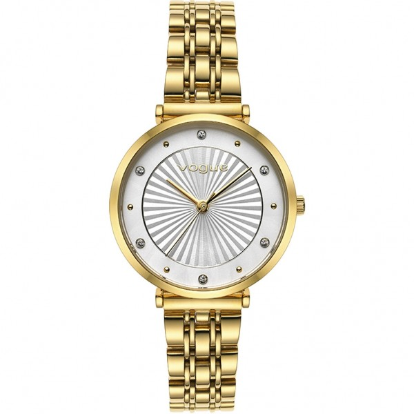 VOGUE Bliss 815341 Crystals Gold Stainless Steel Bracelet
